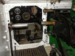 Ouvrage de l'Agaisen EO III - English:   Renault UE driver\'s cabin from the Maginot Line\'s Alpine extension, ouvrage l\'Agaisen