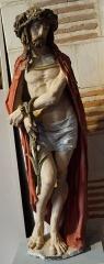 Hospice Saint-Nicolas - Français:   Christ au roseau (Ecce homo) venant de l\'hospice st Nicolas de Troyes (Aube, France).