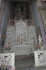 Canal du Midi - Chapelle Notre Dame de Lourdes, Statue de Ste Bernadette, Toile de Denat 1865