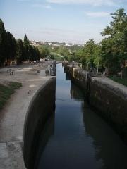 Canal du Midi -  Fonserannes locks