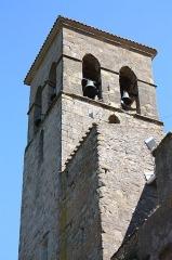Eglise paroissiale Saint-Jean-Baptiste - Français:   Clocher de l\'Église Saint-Jean-Baptiste