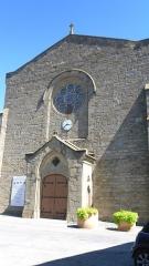 Eglise paroissiale Saint-Jean-Baptiste - Français:   Église paroissiale Saint-Jean-Baptiste, Laure-Minervois