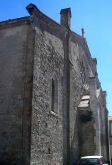 Vivier antique du lac des Capelles - Église Saint-Julien à Bram