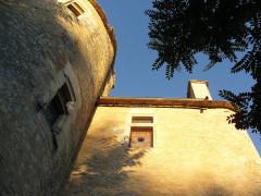 Château (ancien prieuré) de Toulongergues - Français:   tour escalier