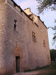 Château (ancien prieuré) de Toulongergues - Français:   facade nord