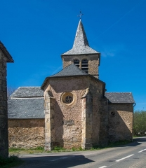 Eglise Saint-Amans de Cadayrac - English: Saint-Amans Church of Cadayrac, Salles-la-Source, Aveyron, France