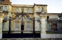 Château de La Buzine -  Le château de la Buzine, façade nord, vue partielle