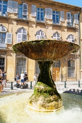 Immeubles formant la place d'Albertas - Deutsch:   Place d\'Albertas in Aix-en-Provence