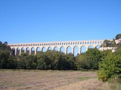 Aqueduc de Roquefavour (également sur commune d'Aix-en-Provence) -  Aqueduc de Roquefavour