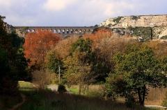 Aqueduc de Roquefavour (également sur commune d'Aix-en-Provence) -  Aqueduc de Roquefavour (Bouches-du-Rhône, France).