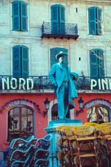 Monument à Frédéric Mistral -  Frédéric Mistral, Occitan poet, Nobel laureate
