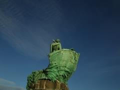 Monument aux héros de la mer, jardin Emile-Duclaux, esplanade Napoléon III, jardin du Pharo -  Le Palais du Pharo