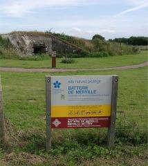 Batterie d'artillerie de Merville - Français:   une des casemates de la batterie de Merville prise à l\'aube du 6 juin 1944 par le 9ème bataillon de parachutistes britanniques sous les ordres du lieutenant-colonel Terence Otway