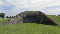 Batterie d'artillerie de Merville - Deutsch: Bunker auf dem Gelände des Museums der Batterie von Merville