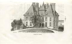 Château de Villers - Français:   Georges Bouet, le château de Villers sur Mer