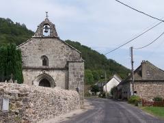Château de Caillac - Salsignac (Antignac, Cantal, France) - Église Saint-Étienne.