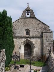 Château de Caillac - La chapelle Saint-Ferréol et Notre-Dame du Bon-secours à Salsignac (commune d'Antignac, Cantal)