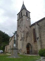 Eglise Saint-Blaise et Saint-Martin - Français:   L\'église de Saint-Martin et Saint-Blaise, département du Cantal, en région Auvergne-Rhône-Alpes, France
