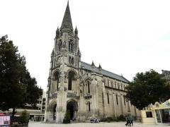 Eglise Saint-Martial -  Angoulême: l'église Saint-Martial (néoroman XIXème siècle)