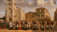 Eglise Saint-Martial - English: city museum of Angoulême, France