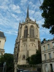 Eglise dite chapelle Notre-Dame d'Obézine (ou de Bézines) - English: Church of Obezine, Angoulême, Charente, SW France