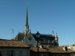 Eglise dite chapelle Notre-Dame d'Obézine (ou de Bézines) - English: Church of Obezine, Angoulême, France