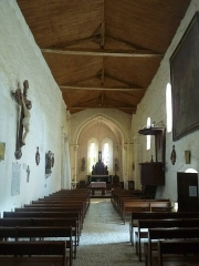 Eglise Saint-Pierre - English: church of Rougnac, Charente, SW France