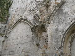 Ancienne abbaye Saint-Cybard - Français:   Vestiges de l\'ancienne abbaye Saint-Cybard, Angoulême, France