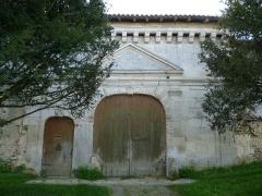 Château de Bouëx - Français:   Entrée du château de Bouëx, Charente, France