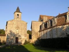 Château de Bouëx - Français:   église et château de Bouëx