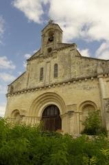 Eglise Saint-Jean-Baptiste - Français:   Église de Ronsenac, Charente, France