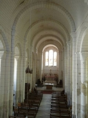 Eglise Saint-Jean-Baptiste - English: church of Ronsenac, Charente, SW France