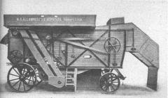 Château de Bourgon - Magyar: A budapesti Magyar Királyi Gépgyárban 1879-ben készült első cséplőgép