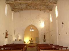 Eglise Notre-Dame - Français:   Intérieur de l\'église Sainte-Radegonde