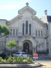 Temple protestant de Saintes - Français:   Temple protestant de Saintes