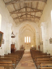 Eglise Saint-Martin - English: Meux: village church interior