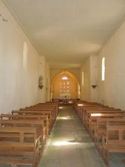 Eglise Notre-Dame de l'Assomption - Deutsch: Innenansicht der katholischen Pfarrkirche Notre-Dame-de-l'Assomption in Neulles