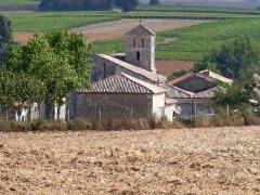 Eglise Saint-Georges - Français:   Vue de St-Georges-des-Agoûts, Charente-Maritime, France