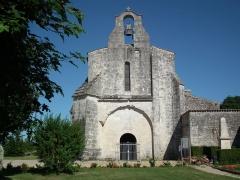 Eglise Saint-Martial - Français:   L\'église romane de Saint-Martial-de-Vitaterne