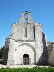 Eglise Saint-Martial - English: Saint-Martial-de-Vitaterne: village church