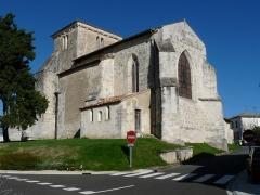 Eglise Saint-Pallais - Français:   Eglise de Saint-Palais-de-Négrignac, Charente-Maritime, France