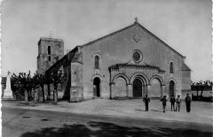 Eglise Saint-Thomas - English: St thomas Church in 1920