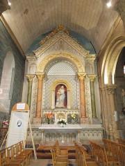Eglise paroissiale Saint-Gervais et Saint-Protais - English:   Jonzac, church Saint-Gervais-et-Saint-Protais, northern aisle