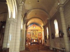 Eglise paroissiale Saint-Gervais et Saint-Protais - English:   Jonzac, church Saint-Gervais-et-Saint-Protais, southern aisle