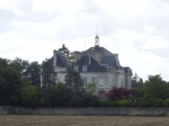 Château de Plassac - English: Château de Plassac, viewed from the north