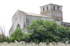 Eglise Saint-Martial - Français:   Saint-Martial-de-Mirambeau - Eglise Saint-Martial