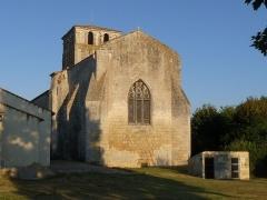 Eglise Saint-Martial - Français:   église de St-Martial-de-Mirabeau, Charente-Maritime, France