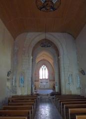 Eglise Saint-Martial - Français:   Eglise de St-Martial-de-Mirambeau, Charente-Maritime, France