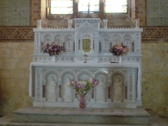 Eglise Saint-Martial - Français:   -Mirambeau (Charente-Maritime, France) église St-Martial, autel secondaire.