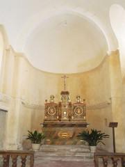 Eglise Saint-Christophe - English:   Villexavier, church Saint-Christophe, altar